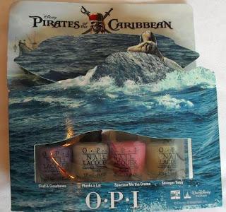 O.P.I Pirates of the Caribbean