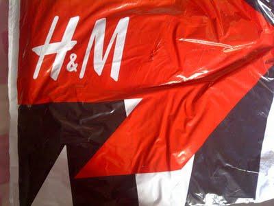 H&M pakketje, juli 2011