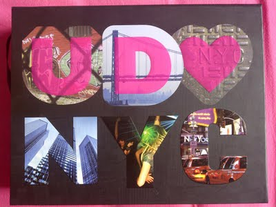 Urban Decay Loves New York City, Book of Shadows