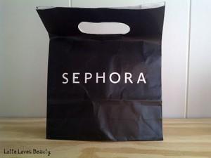 Sephora 3 voor 10 actie!