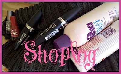 Shoplog (Max Factor, HEMA, Essence, Aussie)