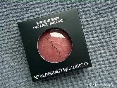 Gekocht: MAC Mineralize Blush Gleeful