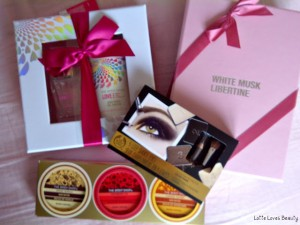 Bestelling van The Body Shop webshop