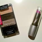 Wet 'n Wild oogschaduwtrio & lippenstift