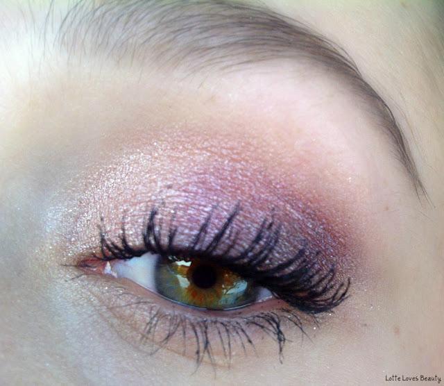 LOTD: Drie kleuren oogschaduw