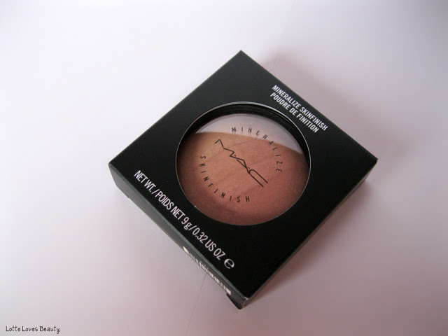 MAC Naturally collectie: Mineralize Skinfinish in Redhead