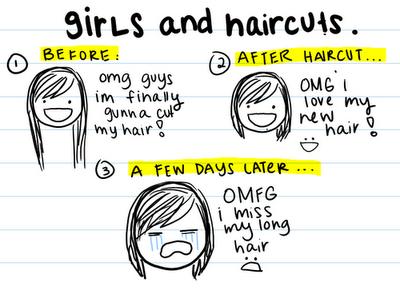 Naar de kapper geweest!