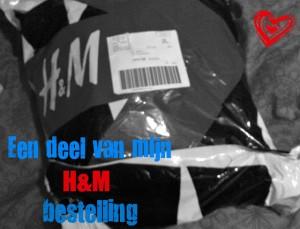 Een deel van mijn H&M bestelling