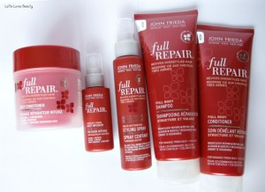 John Frieda Full Repair producten – 5 in 1 review!