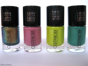 Vier nieuwe Catrice Ultimate Nail Lacquers, review met swatches!