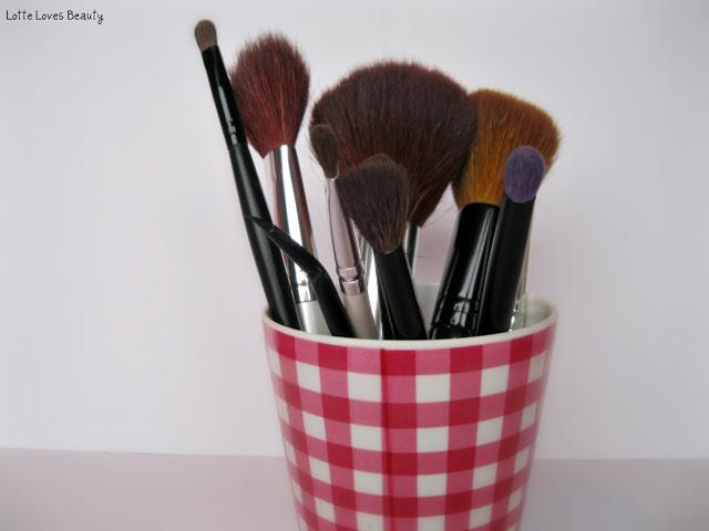Mijn meest gebruikte (en favoriete) make-up kwasten