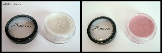 Zoeva Pure Glam Pigments in Porcelain en Love Story