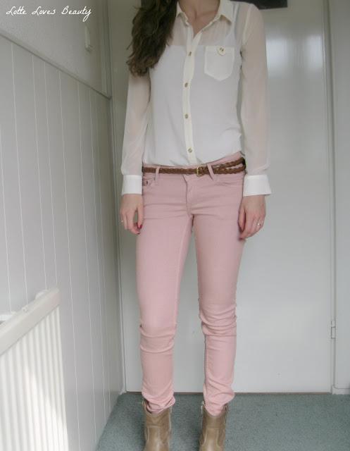 OOTD: Sheer blouse