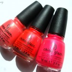 3x China Glaze Summer Neons