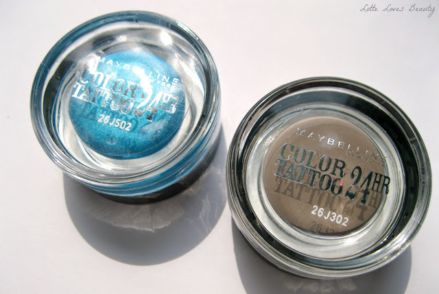 Maybelline Color Tattoo – Permanent Taupe & Turquoise Forever