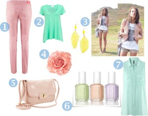 My favourite trends: Pastel & Floral