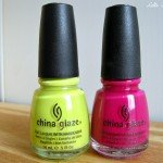 China Glaze: Electric Pineapple & Traffic Jam