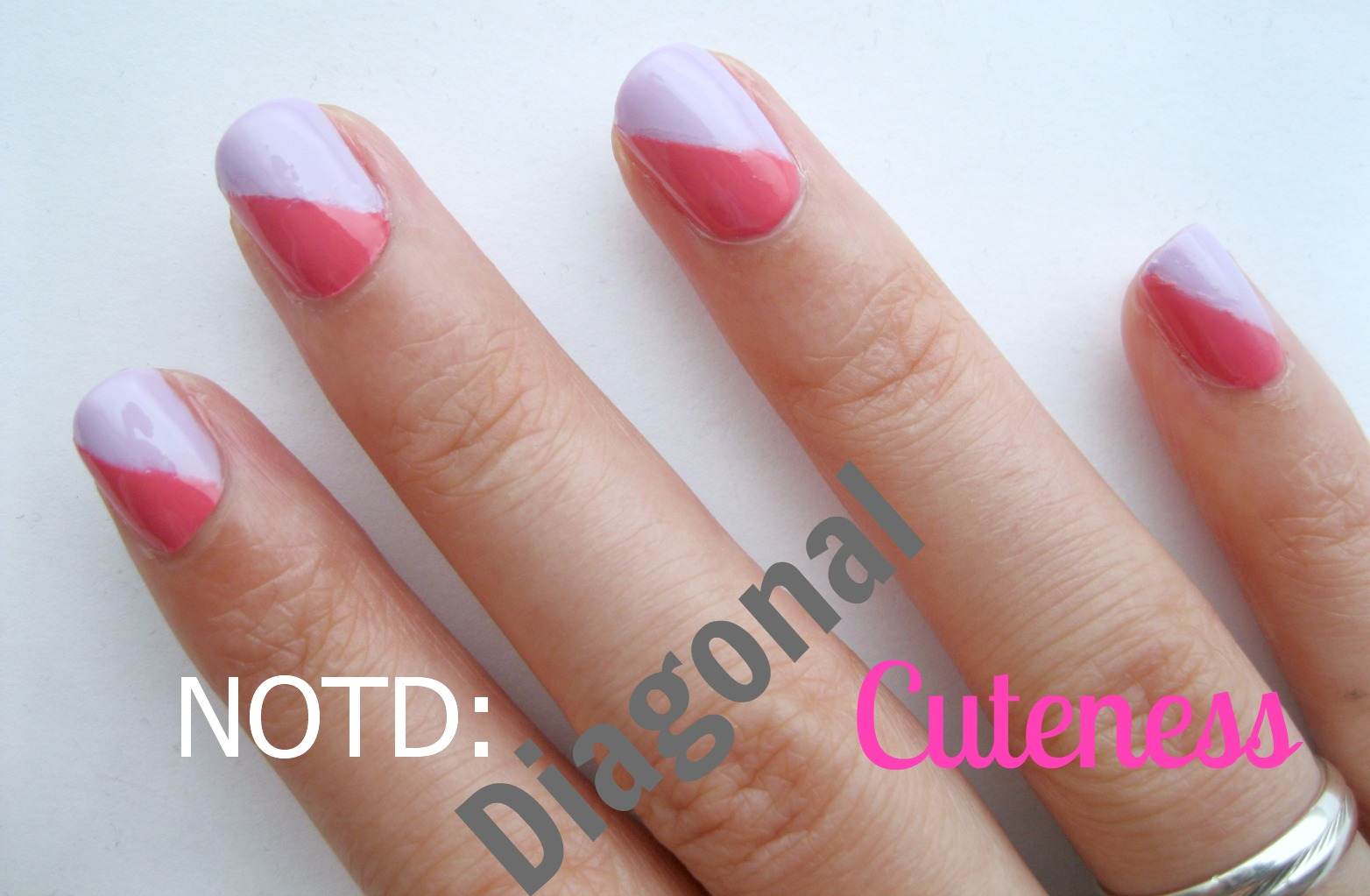 NOTD: Diagonal Cuteness