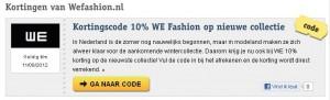 Voor veel voordeel – Vouchercode.nl