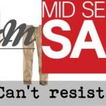 H&M Mid Season Sale – mijn bestelling