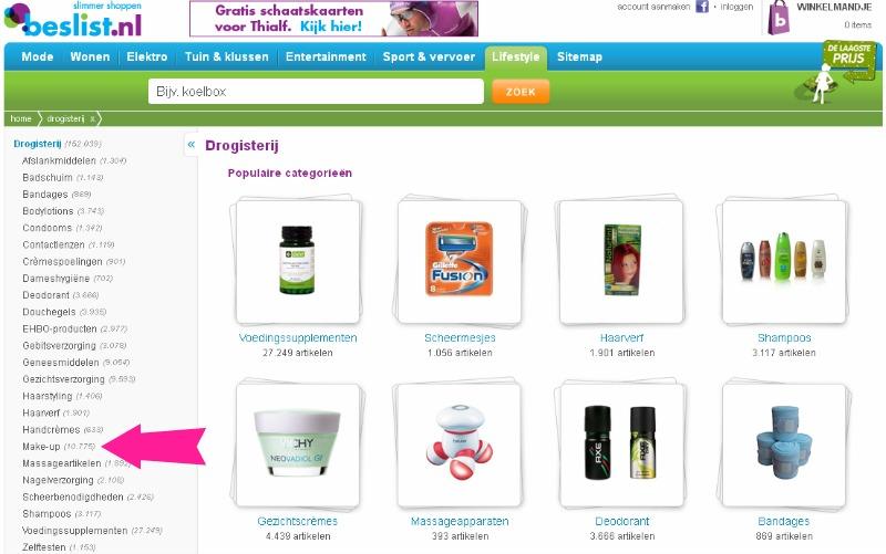 Online shoppen? Eerst prijzen vergelijken op Beslist.nl!