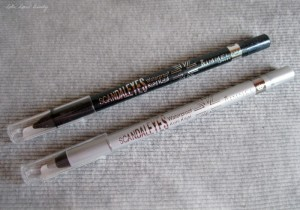 Rimmel Glam'Eyes in 023 Beauty Spells en Scandaleyes in 010 Silver en 002 Sparkling Black