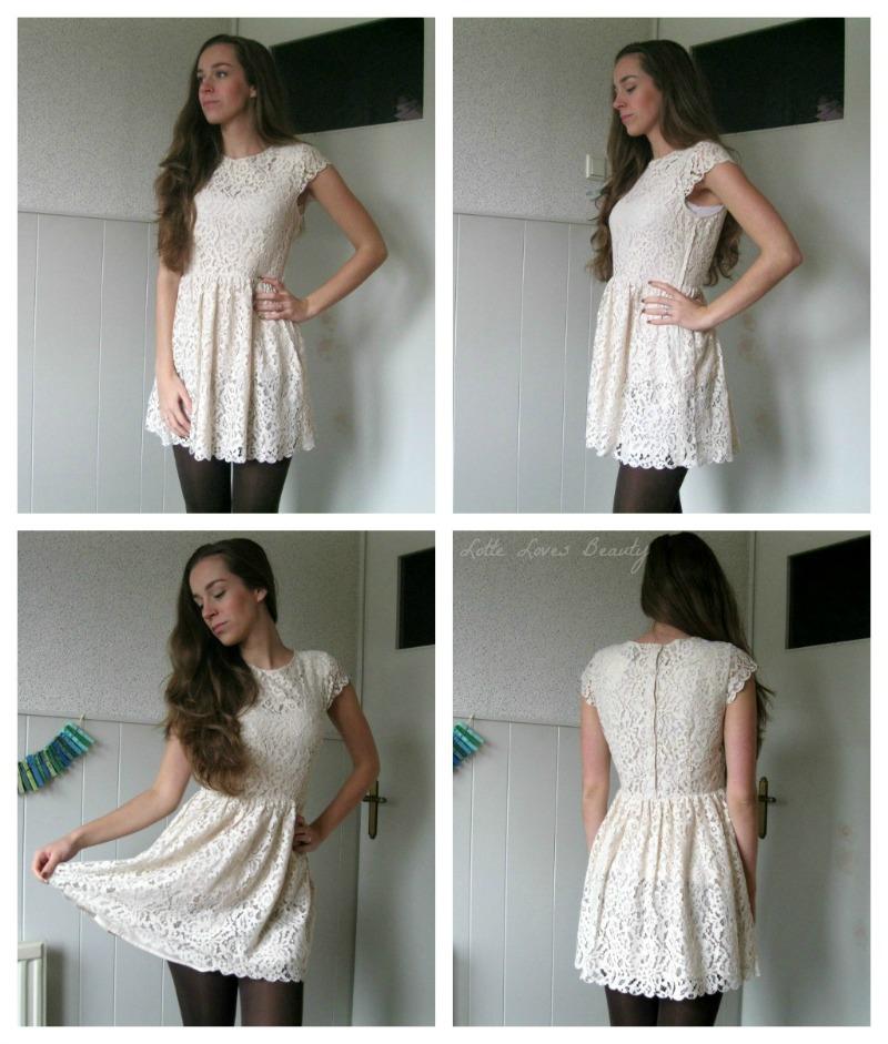 kerst jurk wit