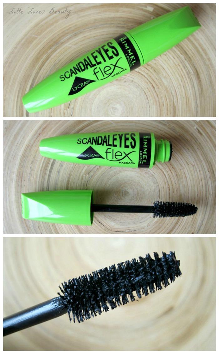 Rimmel Salon Pro Lycra Nail Polish, Natural Bronzer & Scandaleyes Lycra Flex Mascara