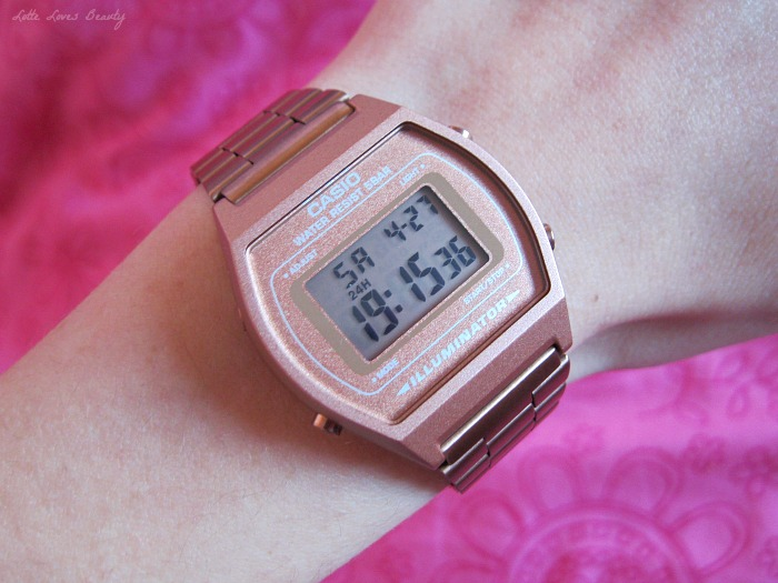 New in: Casio Retro Collection Horloge