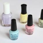Mijn favoriete pastelkleurige nagellakken