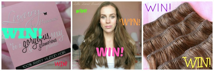 WIN: Luxury For Princesses Clip-in Hairextensions!
