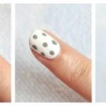 Nail-art: White & Silver