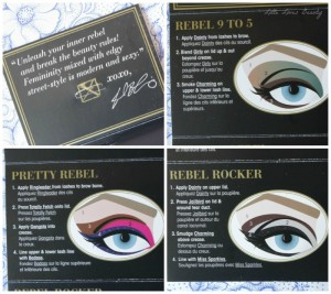 Too Faced Pretty Rebel Palette – swatches & looks