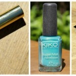 KIKO Vinyl Lips Liquid Lipstick, Sugar Mat Nail Lacquer & Colour Explosion Multi-tone Blush
