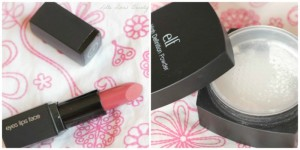 ELF Mineral Lipstick Barely Bitten & High Definition Powder