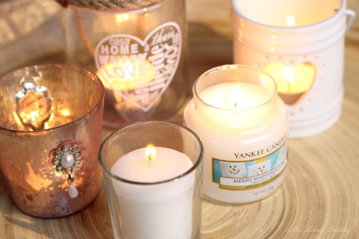 Yankee Candle geurkaarsen voor de feestdagen!