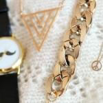 Current love: gouden sieraden