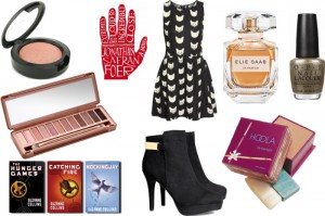 Christmas wishlist (beauty, fashion & boeken)