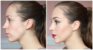 Het verschil dat make-up kan maken
