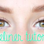 Filmpje: Snelle, makkelijke, strakke eyeliner tutorial