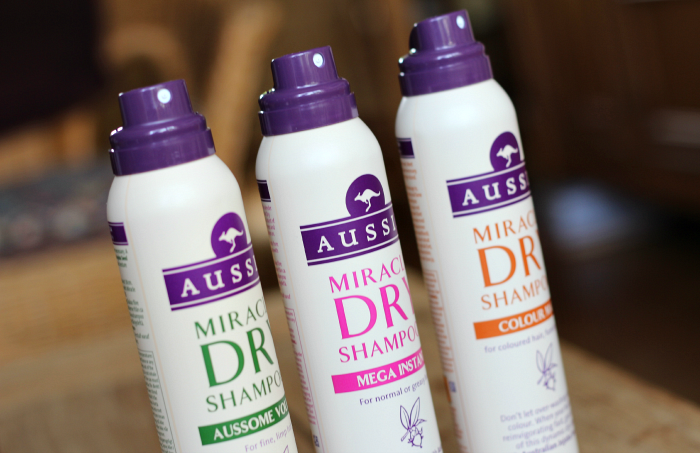 aussie miracle dry shampoo 1