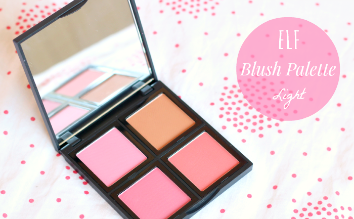 ELF blush palette light