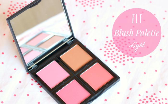 ELF blush palette light