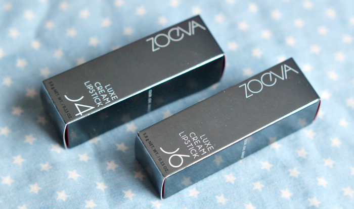 zoeva luxe cream lipsticks 1
