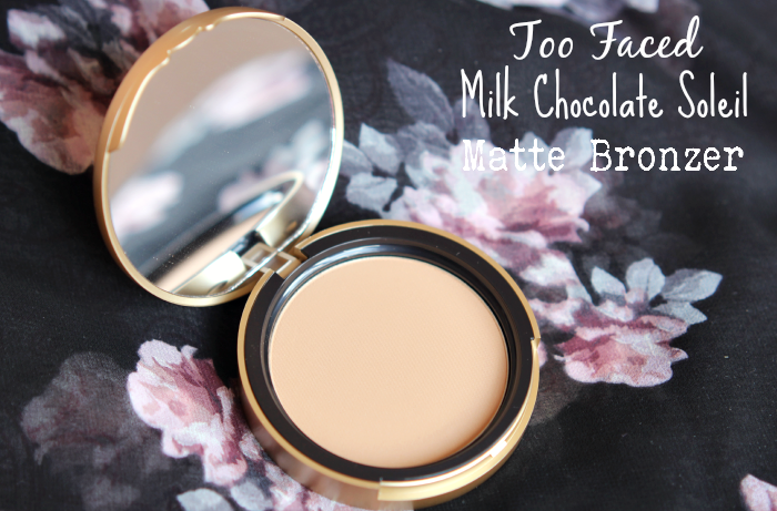 too faced milk chocolate soleil bronzer 2