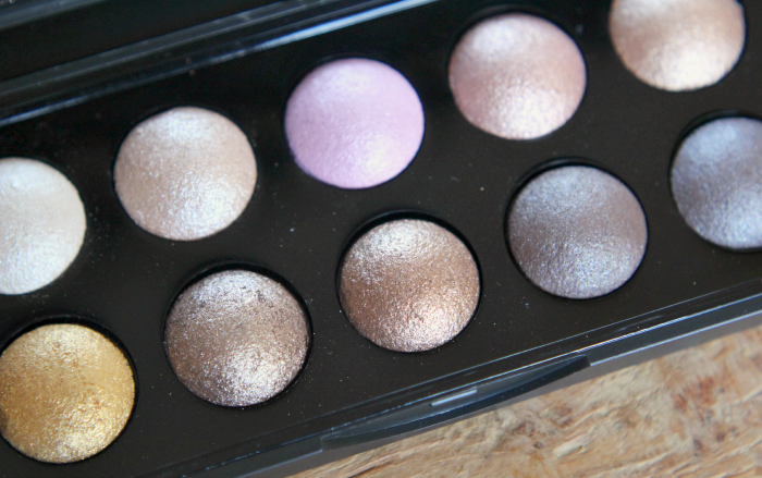 ELF Baked Eyeshadow Palette Texas