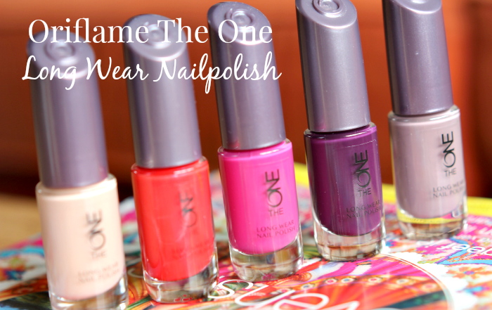 oriflame the one long wear nailpolish 1