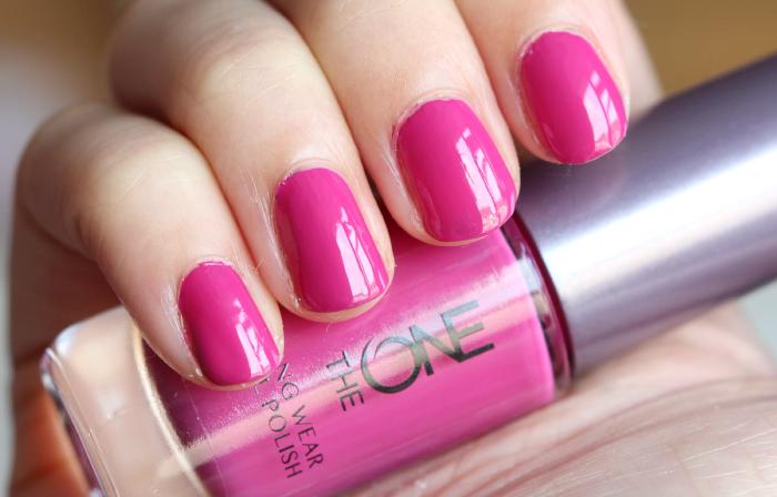 oriflame the one long wear nailpolish 5