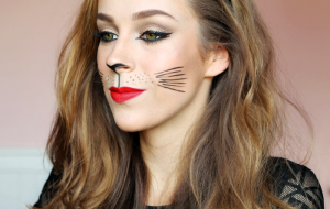 Filmpje: Cat Make Up Halloween Tutorial