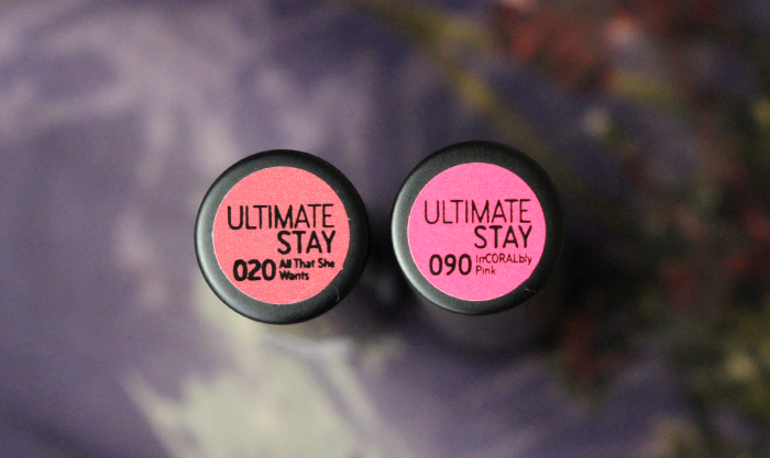 Catrice Ultimate Stay Lipsticks